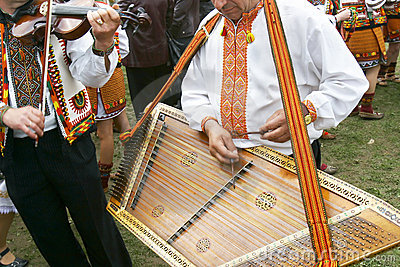 Traditional ukrainian musicians
