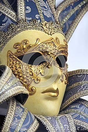 Free Traditional Venetian Carnival Mask. Venice, Italy Stock Image - 21793071