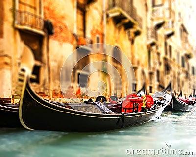 Traditional Venice gandola