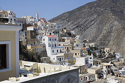 Traditional village of Olympos - Karpathos