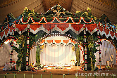 Traditional Wedding Stage