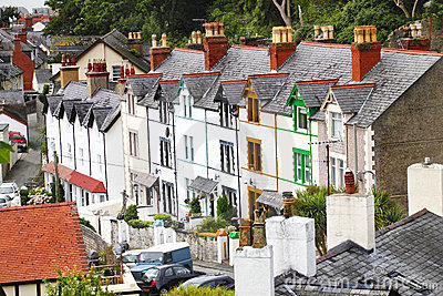Traditional Welsh Terrace Houses