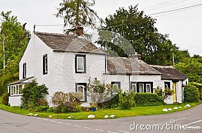 Traditional Whitewashed Lakeland Dwelling