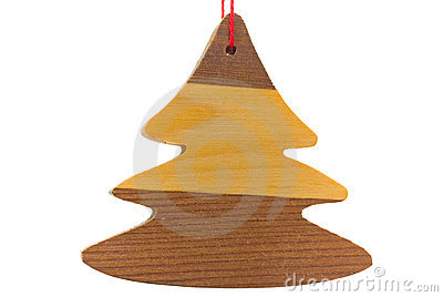 Traditional Wooden Christmas Decoration