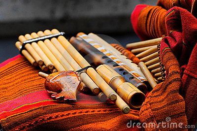 Traditional woodwind instruments