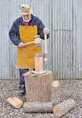 Traditional woodworker