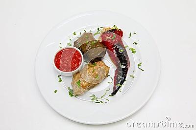 Traditionally dish