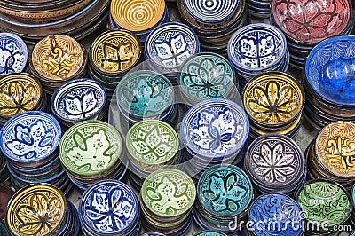 Marokkaanse aardewerk
