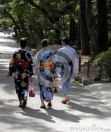 Traditionele kimono
