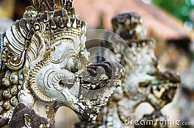 Traditionelle Balinesearchitektur