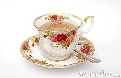 traditionelle englische tasse tee lizenzfreies stockfoto bild 3183775. Black Bedroom Furniture Sets. Home Design Ideas