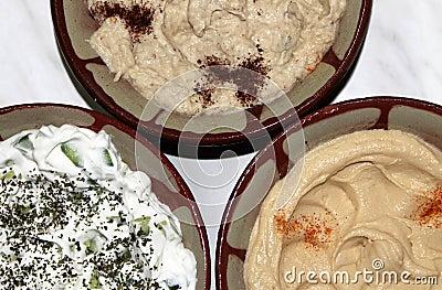 Traditionelle libanesische Nahrung