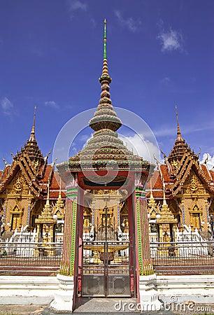 Traditionelle thailändische Artarchitektur