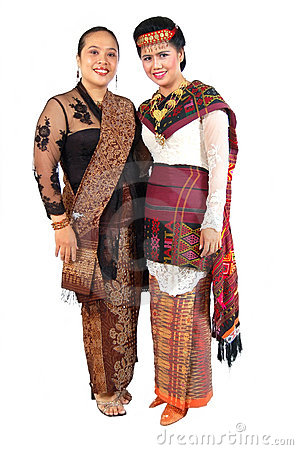 Traditionelles Kleid
