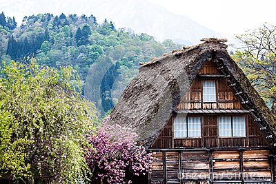 Traditionelles und historisches japanisches dorf ogimachi for Traditionelles japan