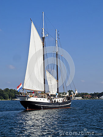 Traditionial schooner