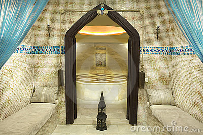 Traditionnal turkish bath