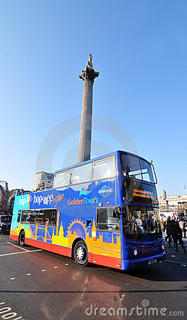 Trafalgar Square, London Editorial Stock Image