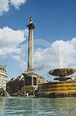 Free Trafalgar Square London City England Stock Images - 3040254