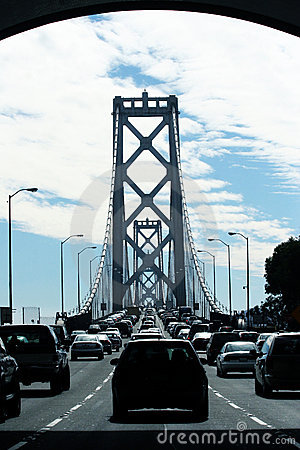 Traffic on Bay Bridge
