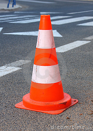 Free Traffic Cone Royalty Free Stock Images - 14754229