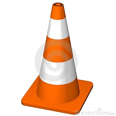 Free Traffic Cone Royalty Free Stock Photography - 5827187