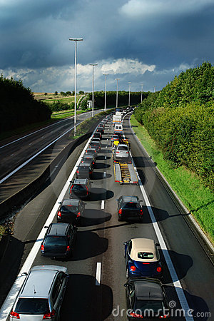Free Traffic Jam. Stock Photography - 1834972