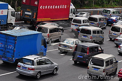 Traffic jam Editorial Photo