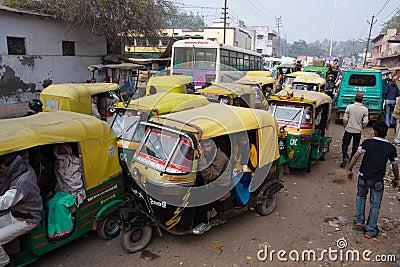 Traffic jam Editorial Stock Image