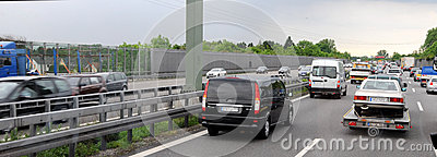 Traffic Jam Royalty Free Stock Image - Image: 28680946