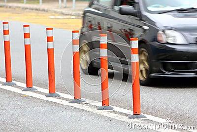 Traffic Lane Control Stick