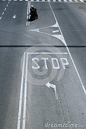Traffic lanes