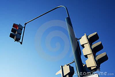 Traffic Light Royalty Free Stock Photos - Image: 12990478