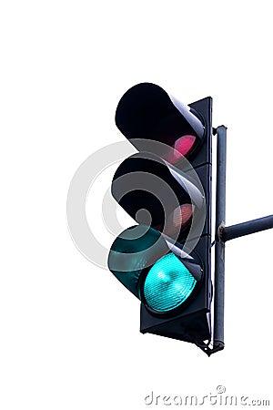 Free Traffic Light Royalty Free Stock Image - 52422106