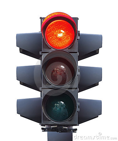 Free Traffic Light Isolated Stock Image - 9695971