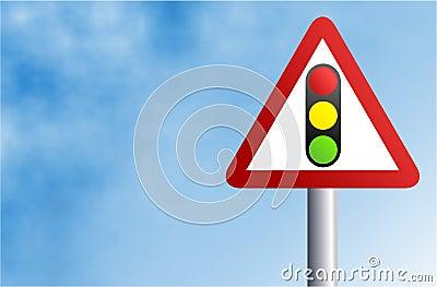 Traffic Light Sign Stock Photo
