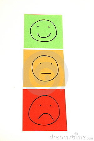 Traffic light smileys