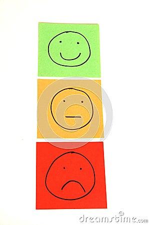 Free Traffic Light Smileys Stock Photos - 7999813