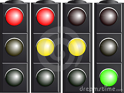 Traffic Light. Variants.
