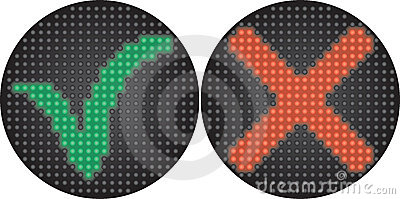 Traffic light Yes or No