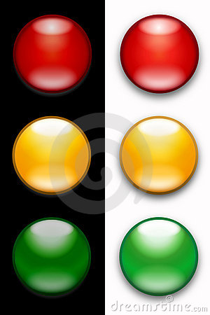 Free Traffic Lights Royalty Free Stock Image - 4195506