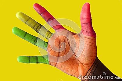 Traffic Lights Fingers#2