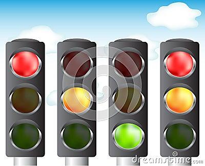 Traffic lights for your design