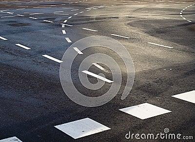 Traffic lines