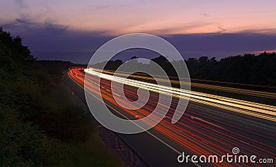 Traffic M6 Blur