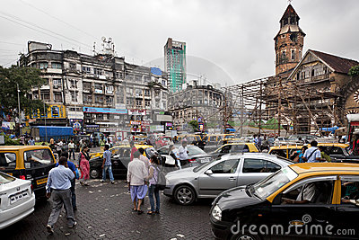 Traffic in Mumbai Editorial Image