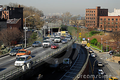 Traffic in New York City Editorial Stock Image