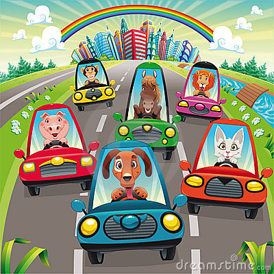 Free Traffic On The Road Royalty Free Stock Photography - 15632107