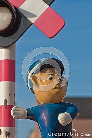 Traffic police gesture (2)