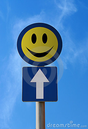 Traffic Sign - Happiness Ahead